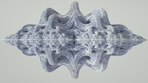 Superstructure Abstract Sculpture