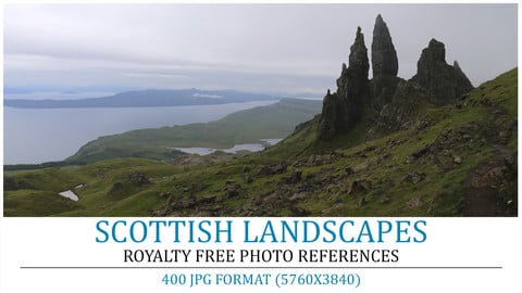 Cover scottish landscapes