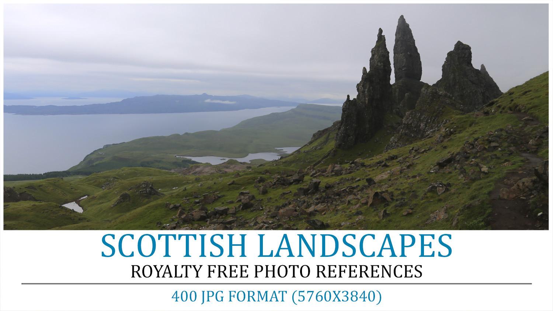 Cover scottish landscapes