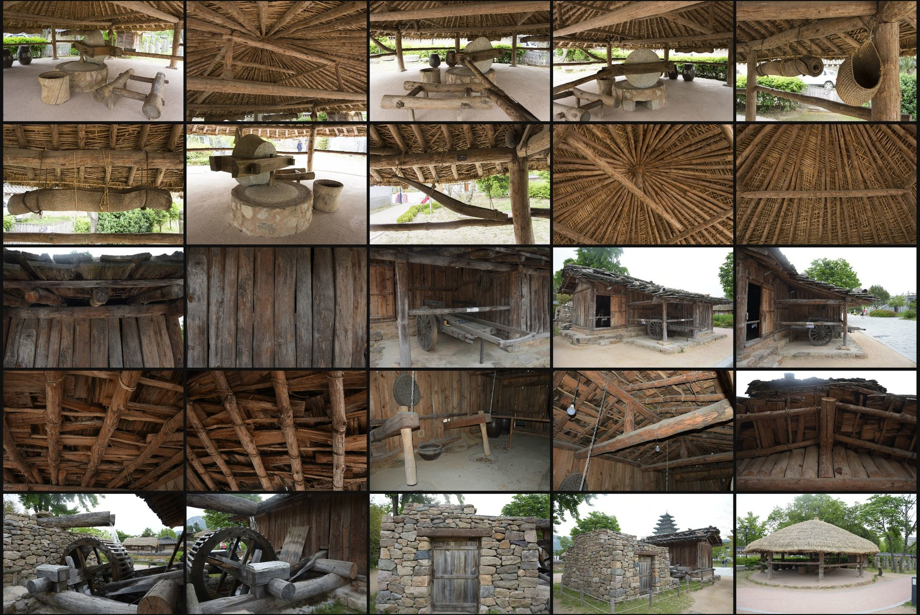 Photo reference pack sk country houses 12