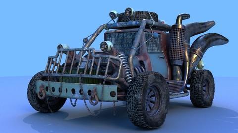 Survival car 3D model