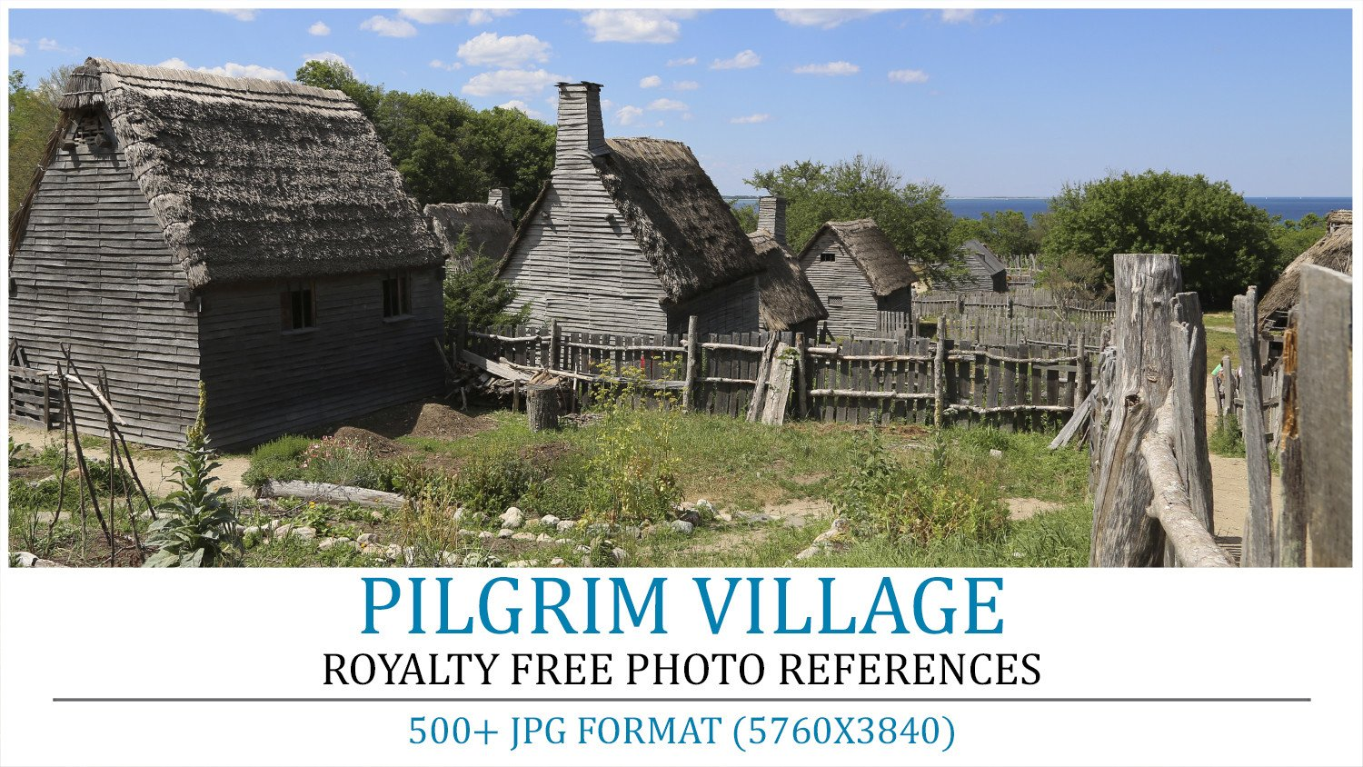 Cover pilgrim village