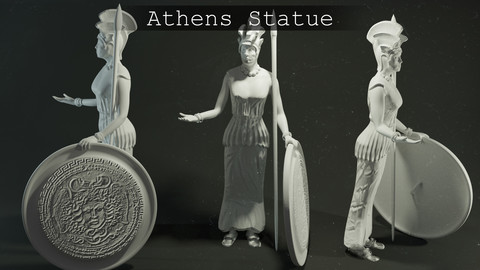 Athens Statue
