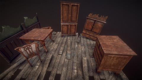 Antique Furniture Pack