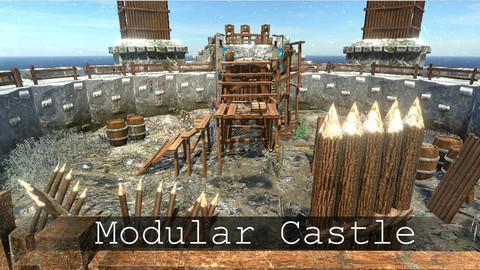 Modular Stone Castle (PBR)