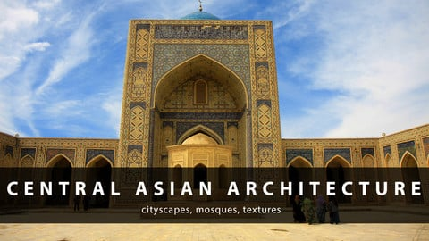 Central Asian Architecture Photopack