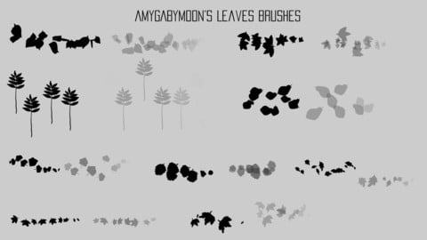 Leaves Special Effects Brushes