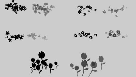 Flowers Special Effects Brushes