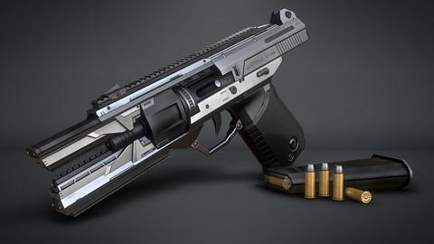 Open pistol 1080