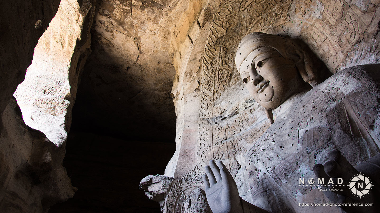 Photo reference pack china yungang caves 06
