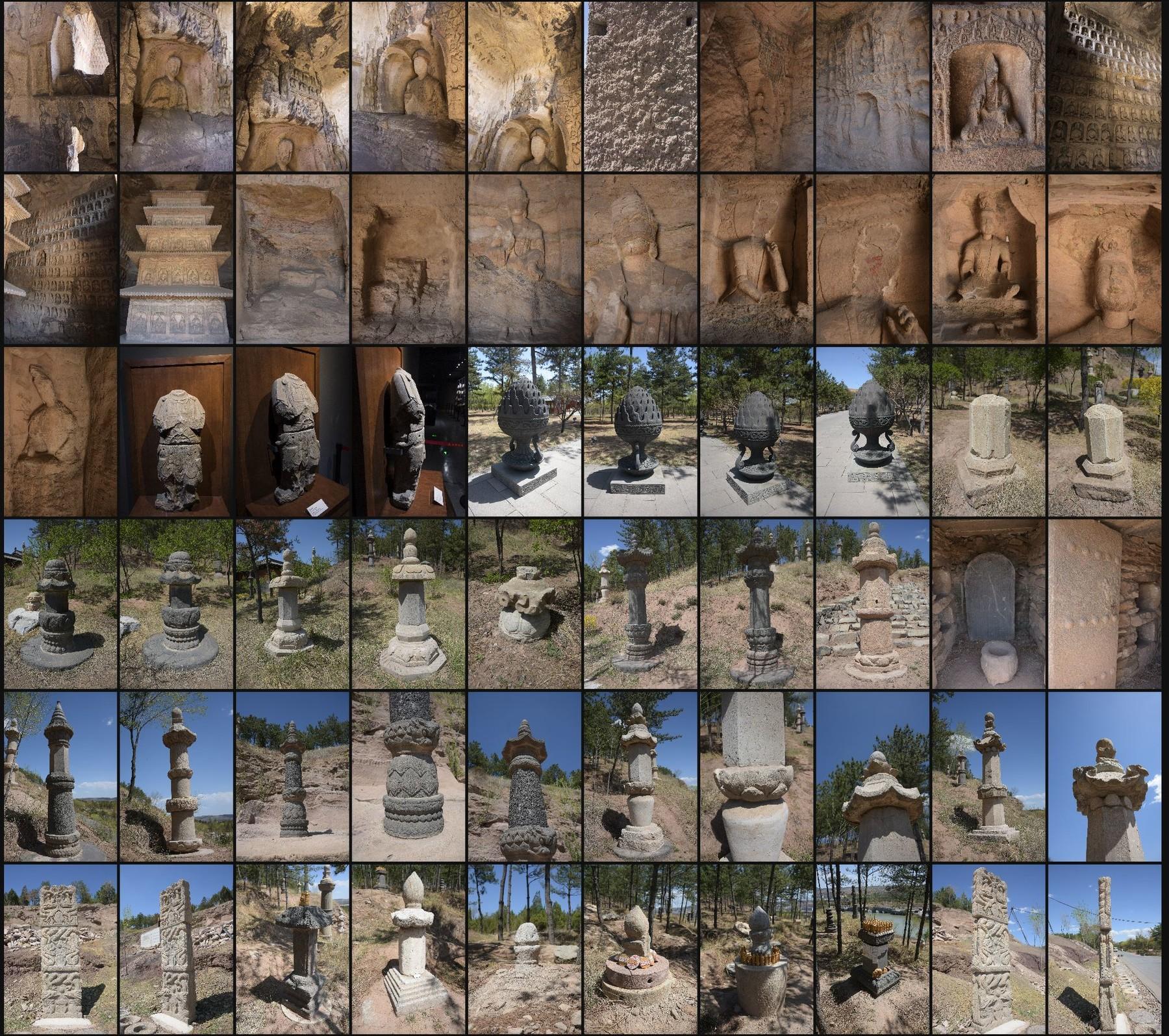 Photo reference pack china yungang caves 08