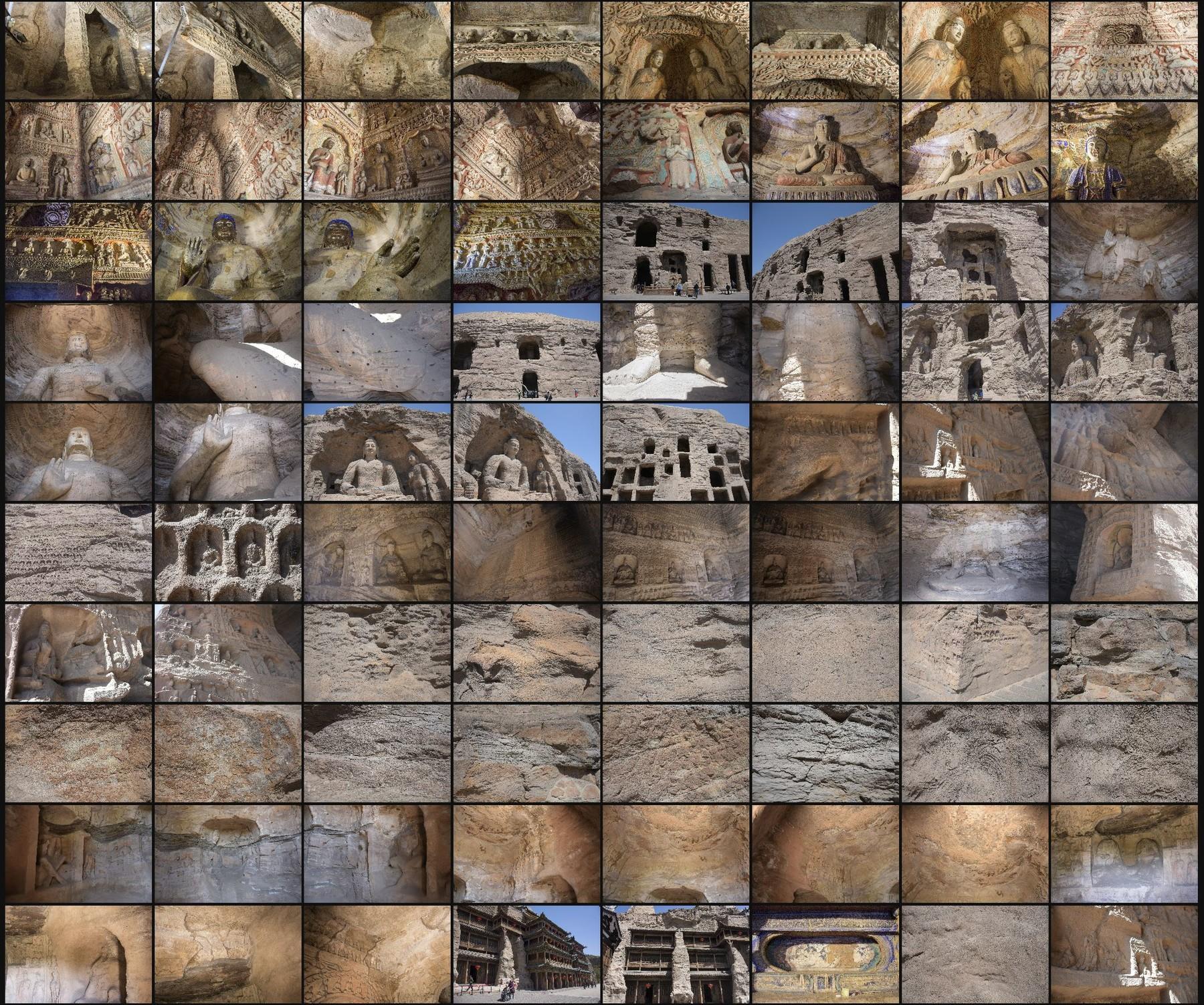 Photo reference pack china yungang caves 011