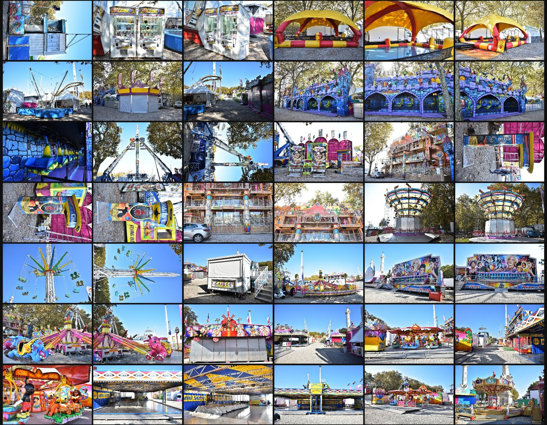 Photo reference pack funfair 12
