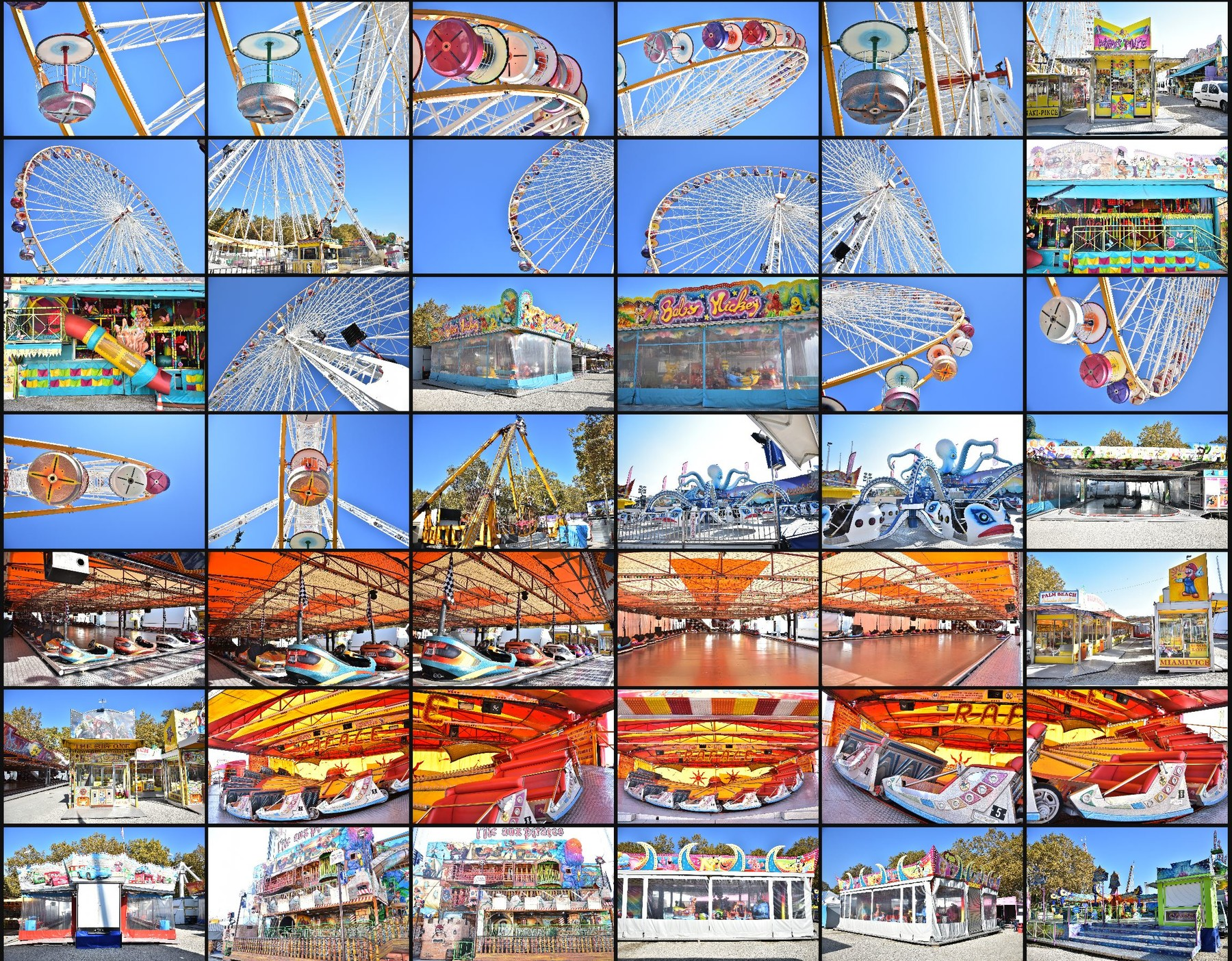 Photo reference pack funfair 14
