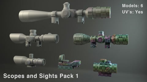Scopes and Sights Pack 1
