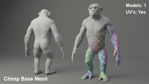 Chimp Base Mesh