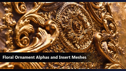 83 Ornament Alphas/zBrush IMM Brush