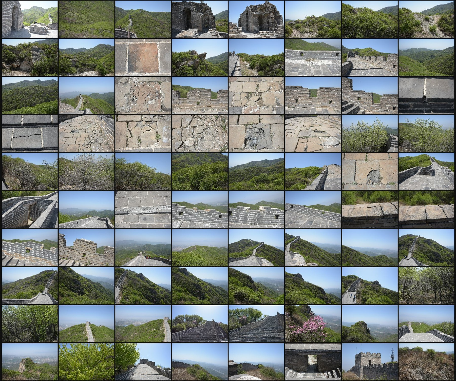 Photo reference pack china great wall 03