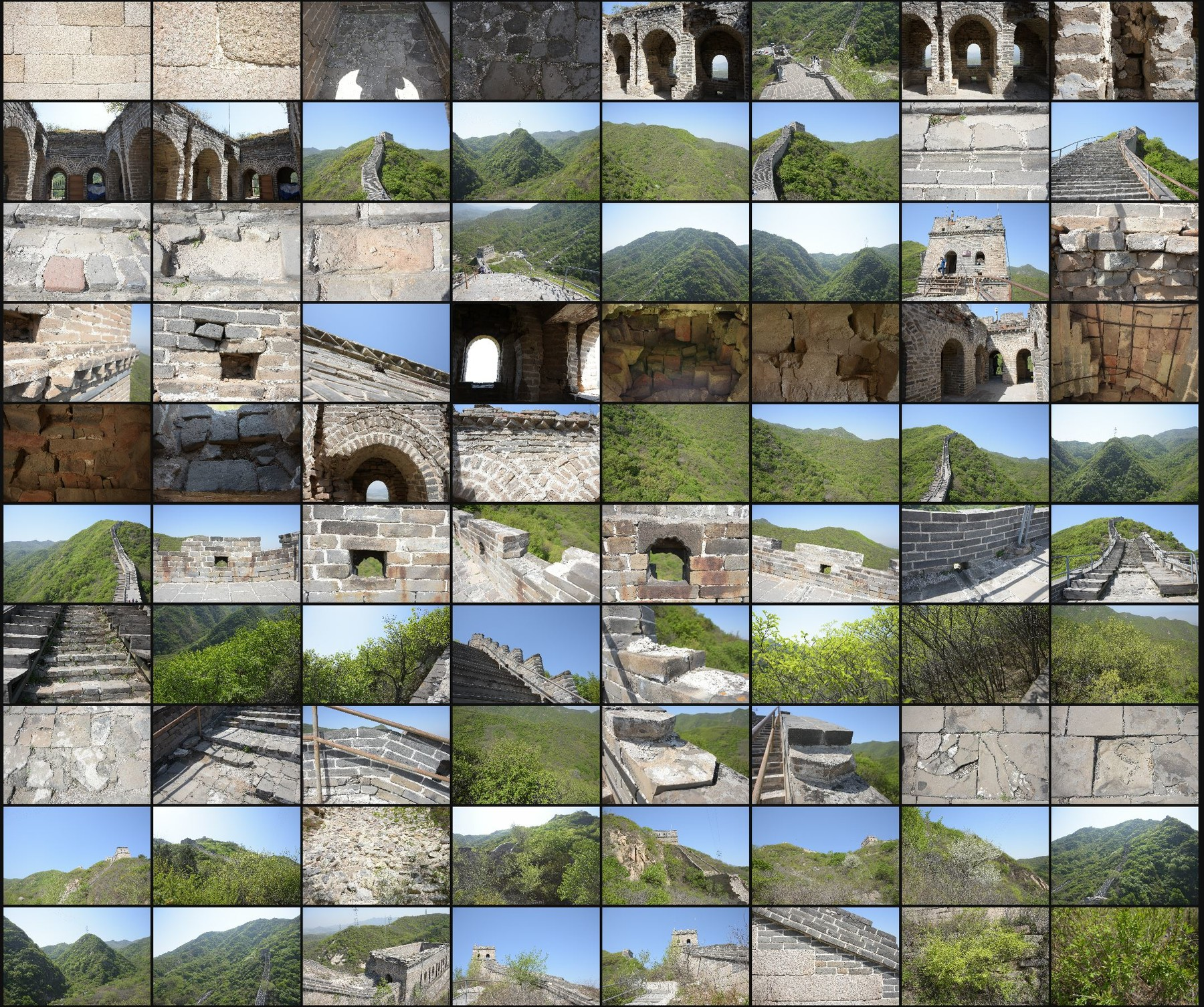 Photo reference pack china great wall 05