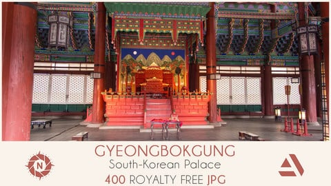 Photo reference pack gyeongbokgung palace 03