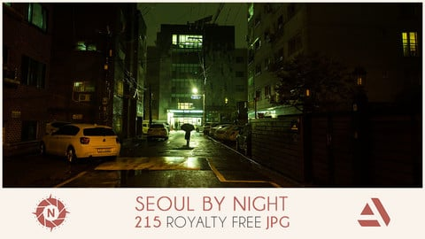 Photo reference pack seoul by night 03