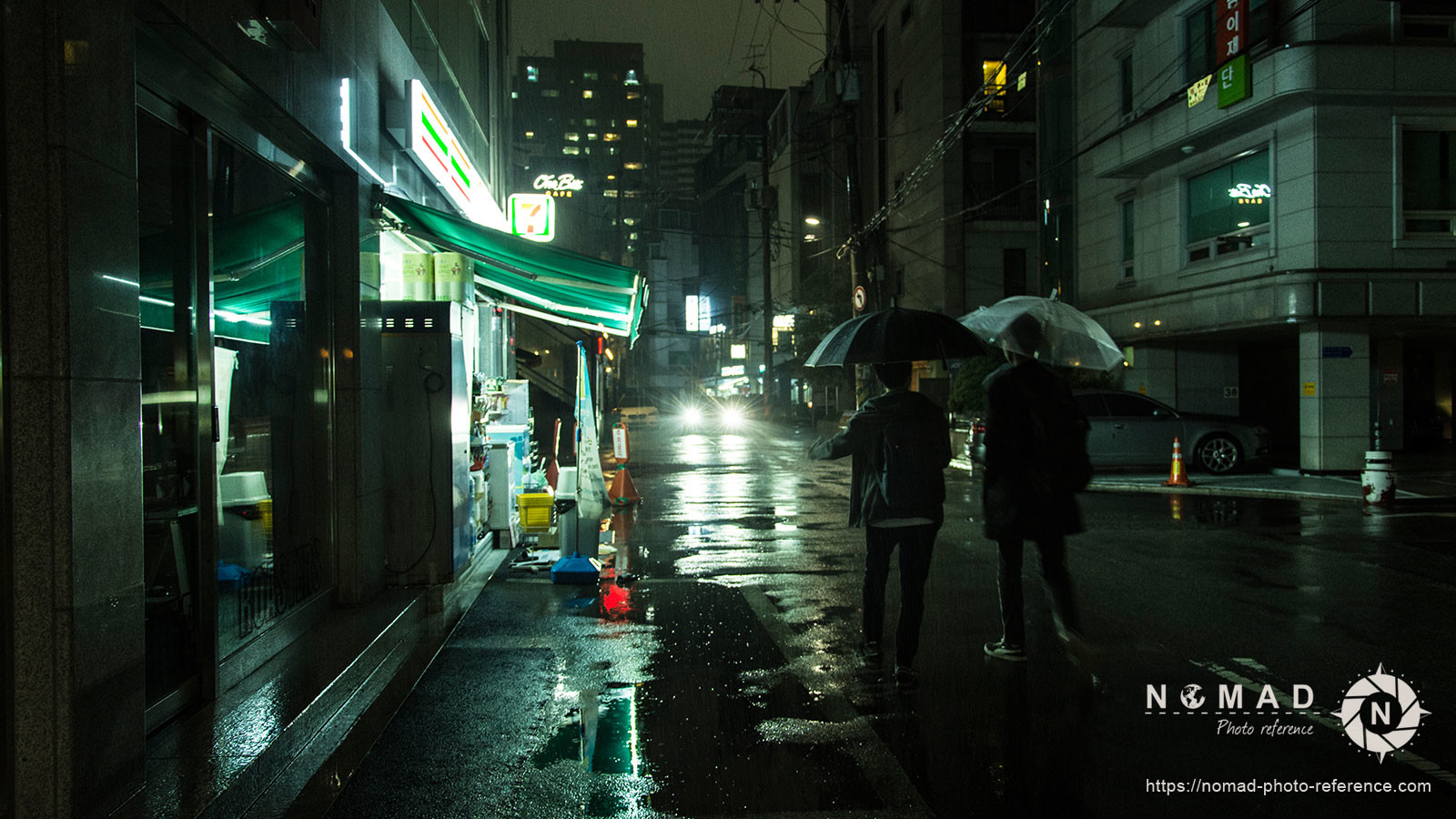 Photo reference pack seoul by night 07