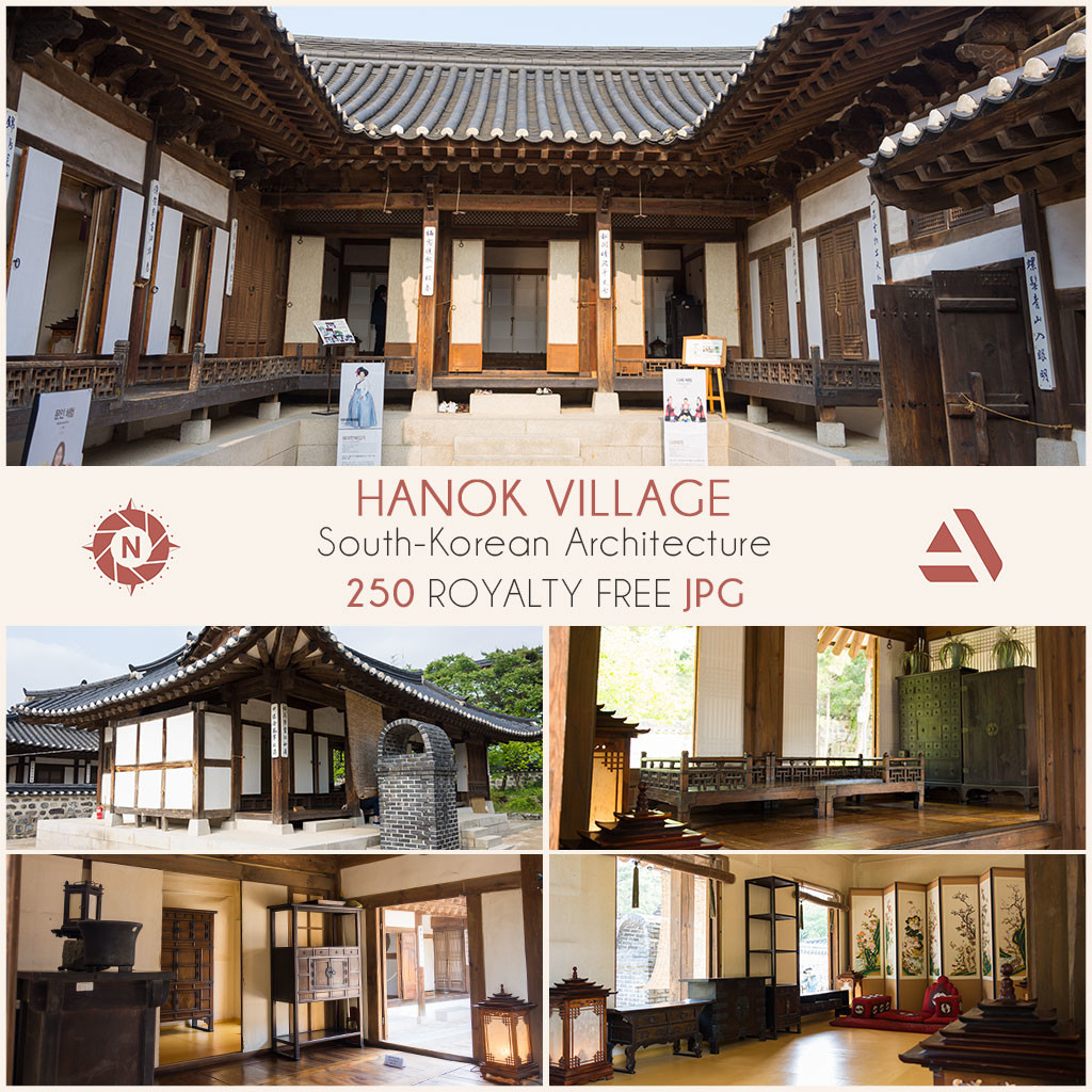 Photo reference pack namsan hanok village 03