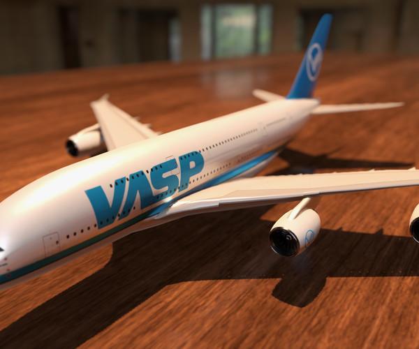 Airbus A380 Vasp