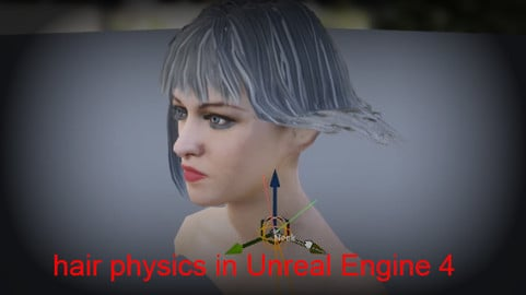 Hair Physics LOD in Unreal Engine 4