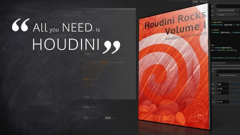 VFX'n'GO - Houdini Rocks - Volume 1