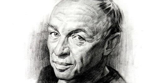 Portrait Drawing Demo - Nicolai
