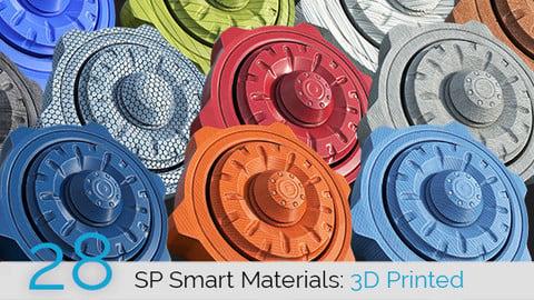 SP Smart Materials: 3D Printed