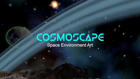 Cosmoscape Space Environment Art