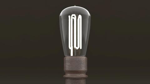 Eco-filament Pear shaped bulb 3D model
