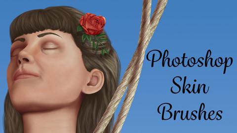Skin Brushes for Photoshop CC
