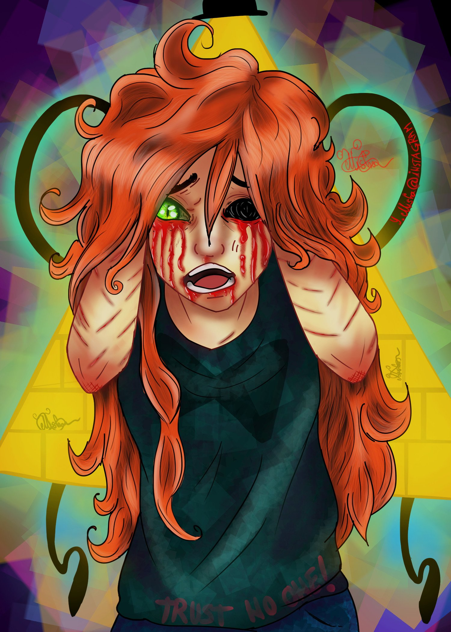 ArtStation - Wendy From Gravity Falls Poster
