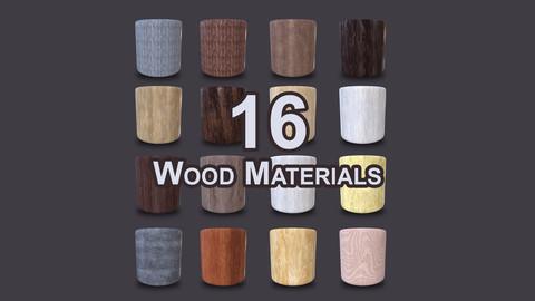16 Wood Materials