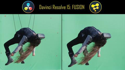Davinci Resolve 15 Fusion: Pro VFX – Remove Tracking Markers & Wires