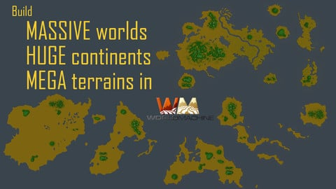 World Machine: Build MASSIVE worlds with HUGE continents and MEGA Terrains
