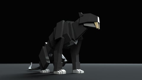 Boxy Saber Tooth Tiger