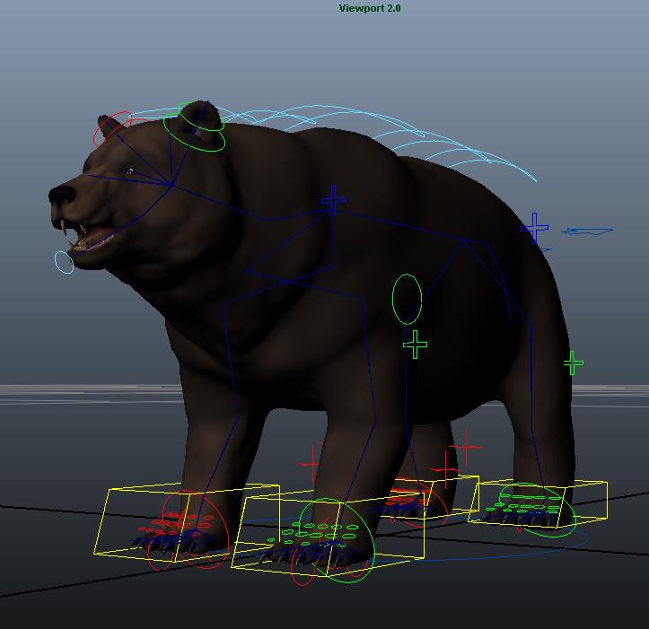 Bear Maya Rig