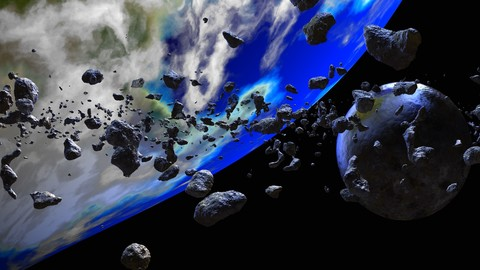 ASTEROIDS 360 degrees backgrounds