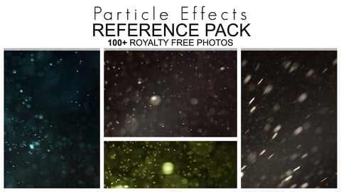Reference Pack - Particle Effects - 100+ Royalty Free Photos