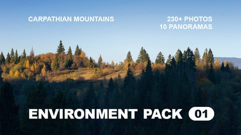 Env Pack 01 / Carpathian Mountains reference pack