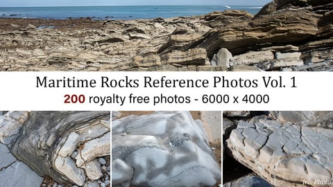 Maritime Rocks Photo Reference Vol. 1