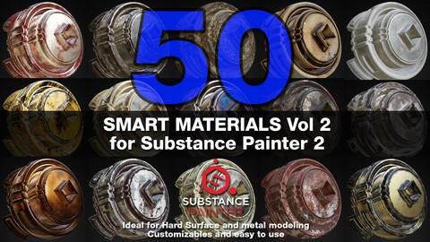 Substance Painter Smart Materials Vol. 2