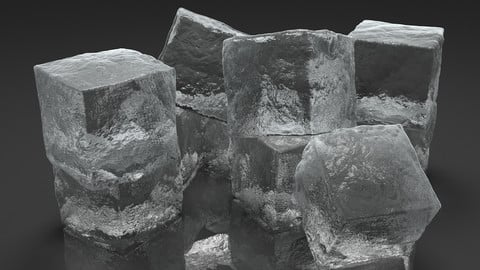 Ice Cubes for V-Ray