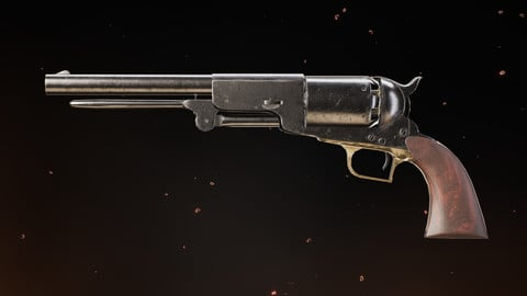 Colt Walker UE4