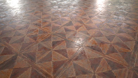Old Wood Parquet - Textures