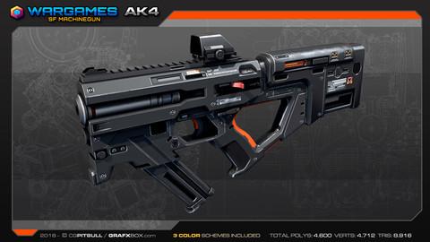 SF Compact MachineGun AK4